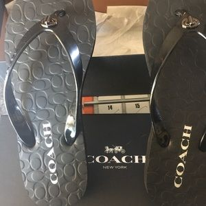 Coach Shoes - Coach flip flop